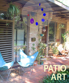 Patio Art: A Mobile And A Breeze   Thatu0027s All It Takes To Turn Your Patio  Into A Kinetic Outdoor Art Gallery. As Mobiles Dance And Spin In The Wind,  ...